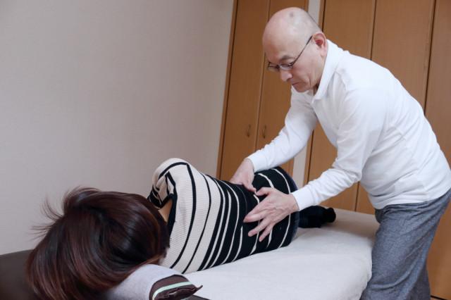 肋椎関節施術