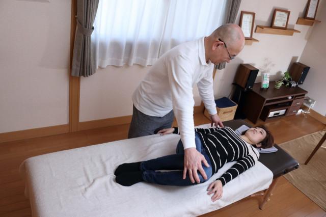 腰椎可動域検査